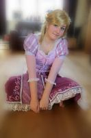 Tangled Rapunzel cosplay 9 by KatintheAttic