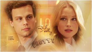 Spencer Reid and Ashley by Anthony258