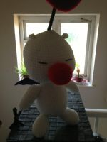 Crochet Moogle by Mr-Nova