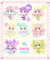 ADOPTABLES Cute and Magical (OPEN) by Atsuky