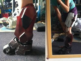 Halo - Leg preview by Hyokenseisou-Cosplay