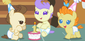 Happy Birthday Cream Puff by 3D4D