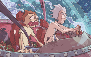 Buckle Up, M-Morty! by Ghotire