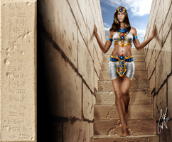 Amunet and the tomb of Beset by Hyde209