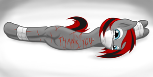 Thank you. by PonyNightmares