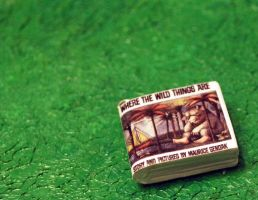 Where The Wild Things Are Book Charm by MadHatterBata