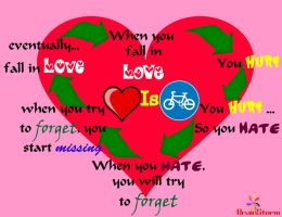 Love's Cycle by d1pran