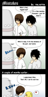 Death Note: Mistakes by mayanna