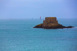 Fortress on the island by olgaFI