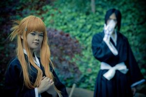 Ishida and Orihime Cool Tones by RodneyJGPhotos
