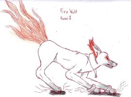 eelement wolf fire 2012 by shiro-chan63