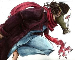 Final Project Watercolors- Nev by The-Alchemists-Muse
