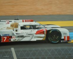 Third placed Audi, Le Mans 2015 by huckerback6