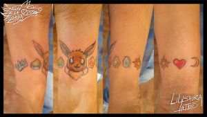Eevee-lution Tattoo by Secret-Rendez-vous