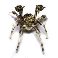 Steampunk Flying Spider robot by CatherinetteRings