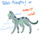 Pallet Adopt Cats! Number 5~ by PeachAdopts