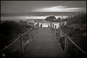 Way to the Beach by nfp