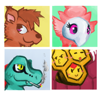 PMDU Icons by FruitBatFrog
