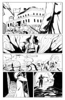 SuperEgo issue 3 internal page ink by FrancescoIaquinta
