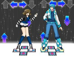 DDR with Aoba by Hero-of-Awesome