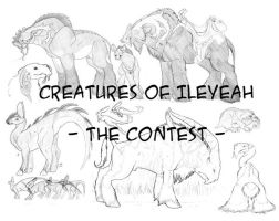 Creature Contest INFO by BloodhoundOmega