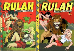 Rulah Cover Comparison II by Glee-chan