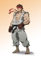 ryu revamp by machinegunkicks
