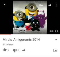 Amigurumi and plushie Compilation 2014 by MirthaAmigurumis
