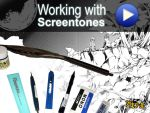 how to work with screentones by demoniacalchild