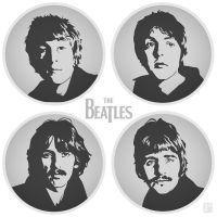 The Beatles by monsteroftheid