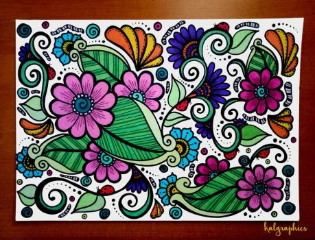 Floral Pattern by KALgraphics