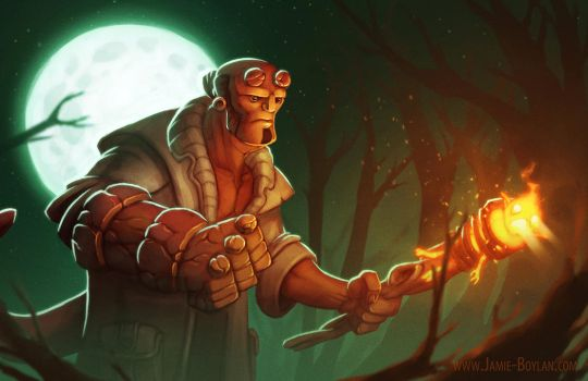 Hellboy by sacking-jimmy