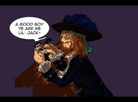 Barbossa and his affection by ArishiTama