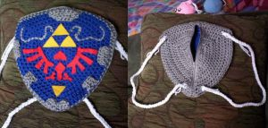 prototype Hylian Backpack by BunnieBard