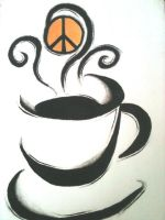 Peace, Love and Coffee by TymDoll