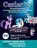 CanterArt Poster INVITE by SILENTPHANTOMOMEGA