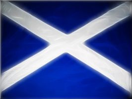 Scottish Flag by welshdragon