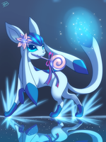 Glaceon by Jack-a-Lynn