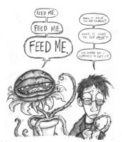 Feed Me by halley42