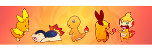 Bookmark Firepokemon by TheBlazingK