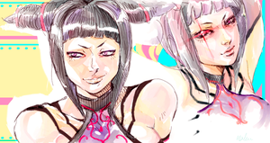 Juri Sketch - Colors by Maki-Ubermach