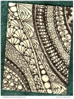Purdy Patterns I ATC 89 by Quaddles-Roost