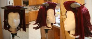 Aki Izayoi Wig Progress by xHee-Heex