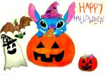 Stitch's Halloween Party by BarnOwlLove