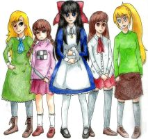 rpg maker girls by PastelPyre