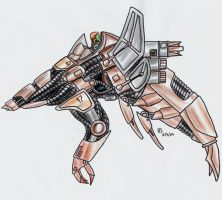 Basilisk War Droid - Scout by Gratulor