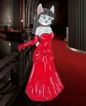 The Lady in Red by fox-mccloud