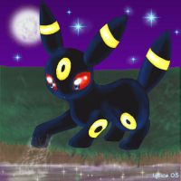 Umbreon for pokexproduction by igtica