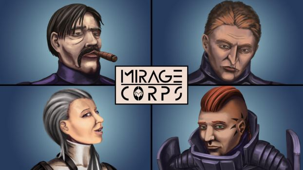 Mirage Corps: The Team by O-RS