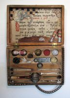 Assemblage: Small Specimen Box by bugatha1